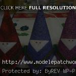 modèle pere noel patchwork