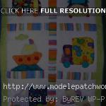modèle patchwork pour bebe