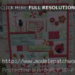 modèle patchwork couverture bebe