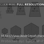 modèle patchwork simple