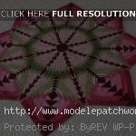 patron napperon patchwork